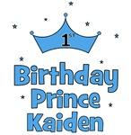 1st Birthday Prince Kaiden!