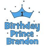 1st Birthday Prince BRANDON!