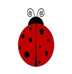 Ladybug - Personalized with any name or text!