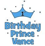 1st Birthday Prince VANCE!