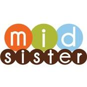 mod circles middle sister shirt simple