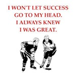 a funny hockey joke on gifts and t-shirts