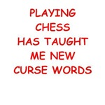a funny chess joke on gifts and t-shirts