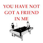 a funny billiards joke on gifts and t-shirts.