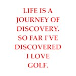 Funny golf joke on gifts and t-shirts.