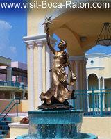 Mizner Park Statue