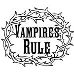Vampires Rule, black