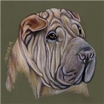 DOGS - 'THE SHAR PEI'