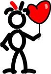 Red Loves Valentine