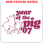 Year of The Pig T-Shirts and Gifts Chinese Zodiac
