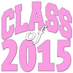 Class of 2015 pink