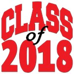 Class of 2018 red