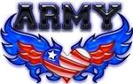 Army Heart Flag