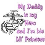 USMC Daddy's Little Princess