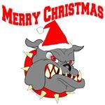 Merry Christmas Devil Dog