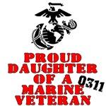Proud Daughter of a Marine Veteran 0311