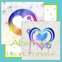 Abstract Heart Patterns
