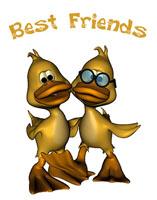 Best Friends Ducks