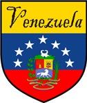 Venezuela Flag Crest Shield