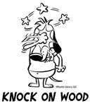 Superstitious Doggy - Knock on Wood