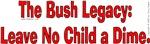 Leave No Child A Dime!