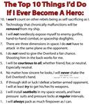 If I Ever Become A Hero.