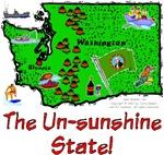 WA - The Un-sunshine State!