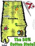 AL - The 50% Cotton State!