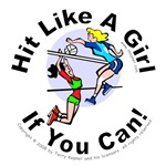 Hit Like A Girl (volleyball 1)