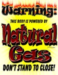 body powered by natural gas