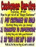 Customer Service #101