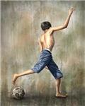 The Desire - Soccer Art Poster
