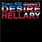 Bill Doesn't Desire Hellary