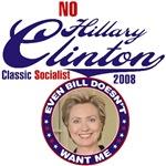 No Hillary Clinton
