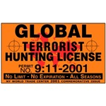 Global Terrorist Hunting Permit