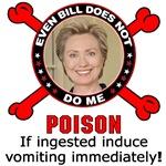 Anti-Hillary: Poison