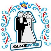 Game Over Art Deco Wedding