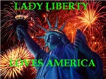 Lady Liberty loves America