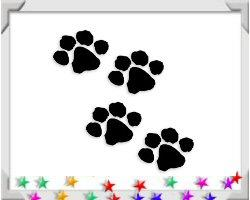 Animal Paw Prints T-shirts & Gift Ideas!