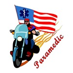 Paramedic Biker Gifts & T-shirts Personalized!