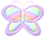 Butterfly Rainbow Personalized Gifts!