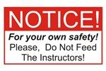 Notice / Instructors