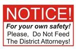 Notice / D.A.