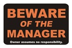 Beware / Manager