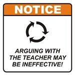 Teacher / Argue