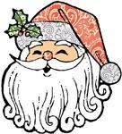 Patchwork Santa Claus