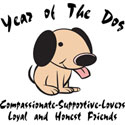 Cute Year of The Dog TShirt & Gifts