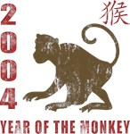2004 Year of The Monkey T-Shirts & Gifts