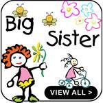 Big Sister Shirts Funny Big Sister Shirts Gifts