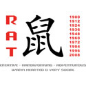 Year of The Rat T-Shirts